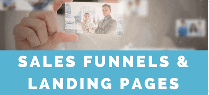 Sales funnel & landing page software